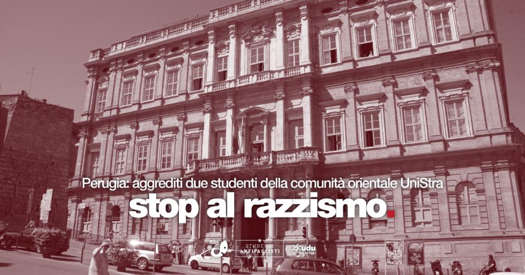 aggressione studenti orientali perugia